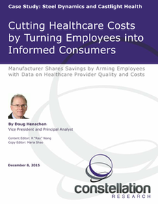 Cutting Healthcare Costs by Turning Employees into Informed Consumers