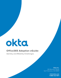 Adoption eGuide: Identity & Access Considerations for Office 365