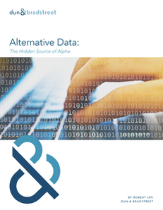 Applying Alternative Data to Find Alpha in the Marketplace