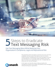 5 Steps To Eradicate Text Message Risk