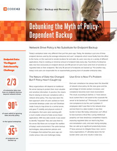 Debunking the Myth of Policy Dependent Backup