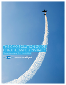 The CMO Solution Guide: Context and Consumers