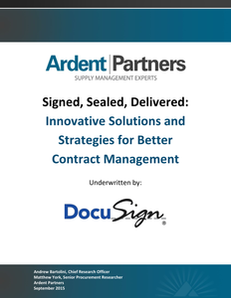 DocuSign and Ardent: Sign, Sealed, Delivered