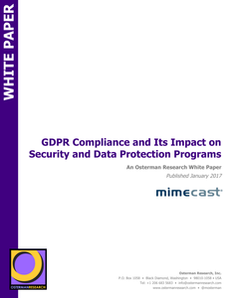 GDPR Compliance & Its Impact on Security & Data Protection Programs