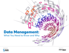 Data Management: What you Need to Know and Why