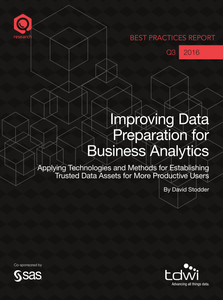 TDWI Best Practices: Improving Data Prep for BA