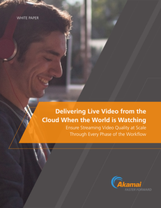 Delivering Live Video from the Cloud When the World is Watching
