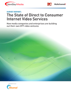 The State of Direct to Consumer Internet Video Services
