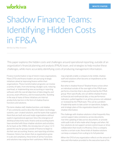 Identify hidden costs in FP&A