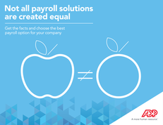 Not all payroll solutions are created equal
