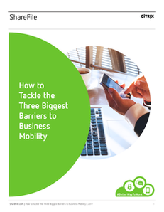 How to Tackle the Three Biggest Barriers to Business Mobility