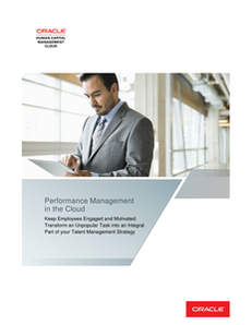 Performance Management in the cloud