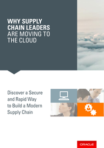 Why Supply Chain Leaders Are Moving to the Cloud
