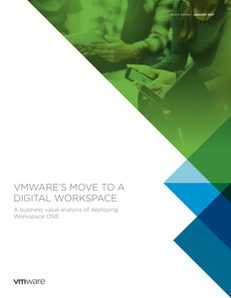 VMware's Move to a Digital Workspace