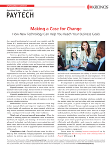 Making a Case for Change: How New Technology Can Help You reach Your Business Goals