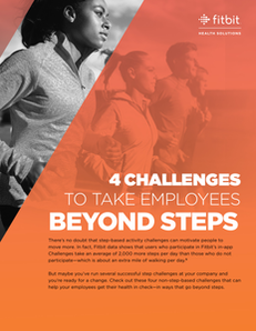 Four Challenges to Take Employees Beyond Steps