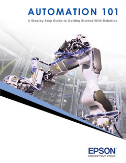 Automation 101: A Step-by-Step Guide to Getting Started With Robotics