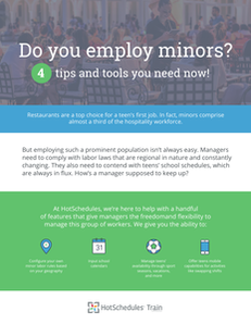 Do you employ minors? 4 tips and tools you need now!