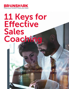 11 Keys for Effective Sales Coaching