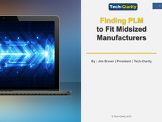 Finding The Best PLM to Fit Industrial Equipment Manufacturers