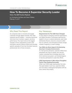 How To Become A Superstar Security Leader