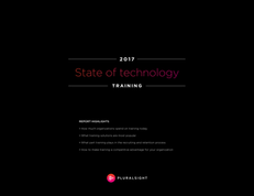 2017 State of Technology Training