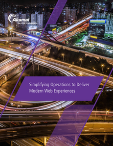 Simplifying Operations to Deliver Modern Web Experiences