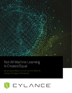 Not All Cybersecurity Machine Learning Is Created Equal