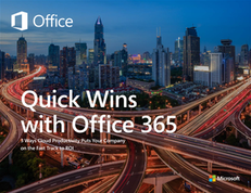 Quick Wins with Office 365 – November