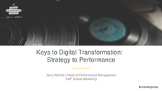 Keys to Digital Transformation: Creating Accountability That Drives Execution
