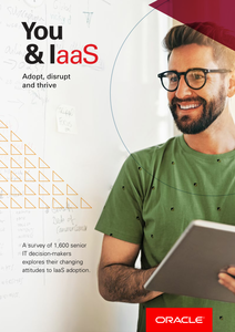 You & IaaS. Adopt, disrupt and thrive