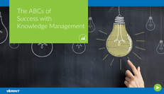 The ABCs of Success with Knowledge Management