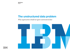 The Unstructured Data Problem