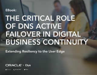 The Critical Role of DNS Active Failover in Digital Business Continuity