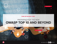 Preparing for the New OWASP Top 10
