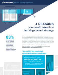 4 Reasons You Should Invest in a Learning Content Strategy