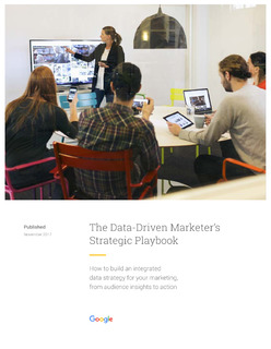 The enterprise marketer's playbook: Building an integrated data strategy