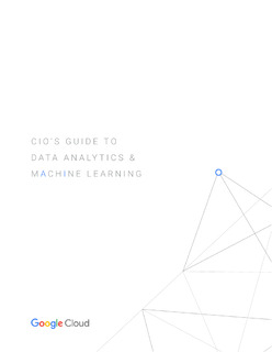 CIO's Guide to Data Analytics & Machine Learning