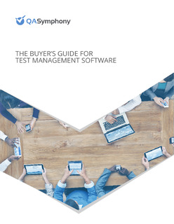 The Buyer's Guide for Test Management Software