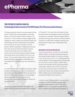 The Future of Digital Health: Advancements That Will Impact the Pharmaceutical Industry