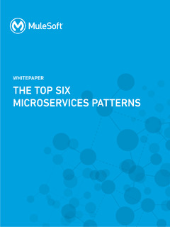 The Top Six Microservices Patterns