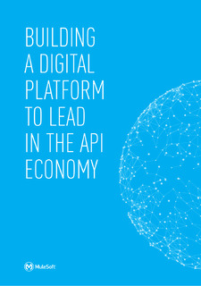 Building a Digital Platform to Lead in the API Economy
