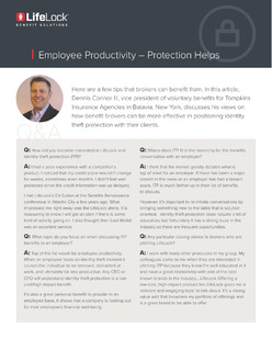 Employee Productivity – Protection Helps