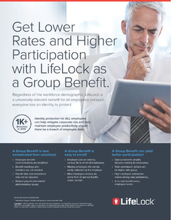 Get Lower Rates and Higher Participation with LifeLock as a Group Benefit
