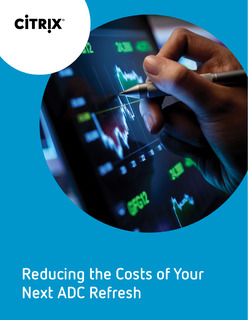 Reducing the cost of your next ADC Refresh