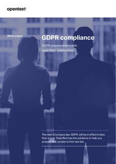 GDPR Compliance: Prepare by Consolidating your Data