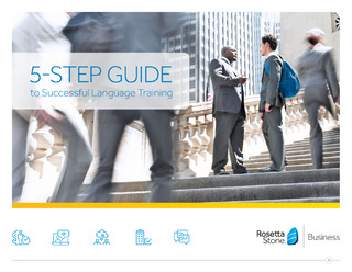 The 5 Step Guide to Successful Language Training