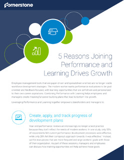 5 Reasons Joining Performance and Learning Drives Growth