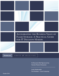 Accelerating the Business Value of Flash Storage: A Practical Guide for IT Decision-Makers