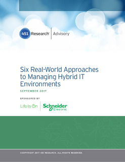 451 Research Takes the Guesswork Out of Hybrid IT Management